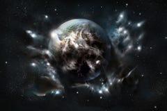 inne ziemi. zdjęcia stock