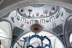 Innen-Abuhav-Synagoge in Safed Stockfotos