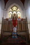 Innen - Basilika San-Thome, Chennai Stockbilder