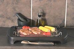 Innen-BBQ Lizenzfreies Stockbild