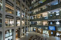 Innen-Kitte-Einkaufszentrum Chiyoda Tokyo Lizenzfreies Stockbild