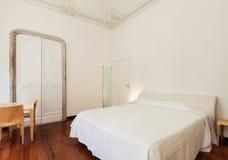 Innen-, klassisches Schlafzimmer stockfoto