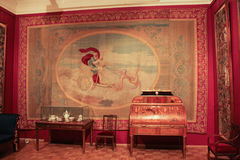 Innen- lebender Himbeeren-Gatchina-Palast Lizenzfreies Stockbild