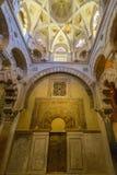 Innen-Mezquita in Cordoba lizenzfreies stockfoto