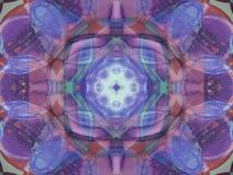 Innenanordnung in violettem und in Magentarotem lizenzfreies stockfoto