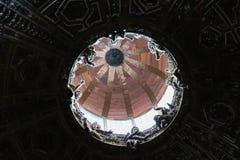 Innenansicht der Haube von Duomodi Siena Stadtkathedrale von Santa Maria Assunta toskana Italien Stockfotografie