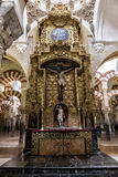 Innenansicht der Kathedrale in Avila Stockfoto