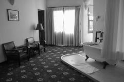 Innenansicht des acient Hotels in Lam Dong, Vietnam Lizenzfreie Stockfotos