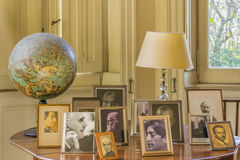 Innenansicht des Landhauses Ocampo in San Isidro Buenos Aires Stockfotografie