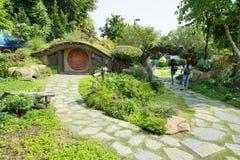 Innenansicht des Spaßparks nannte Dream World in Pathum Thani, T Stockbilder