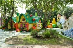 Innenansicht des Spaßparks nannte Dream World in Pathum Thani, T stockbild