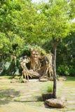 Innenansicht des Spaßparks nannte Dream World in Pathum Thani, T lizenzfreies stockfoto
