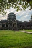 Innenansicht ein Angkor Wat in Siem Reap, Kambodscha stockfotos