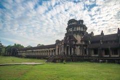 Innenansicht ein Angkor Wat in Siem Reap, Kambodscha stockfotografie