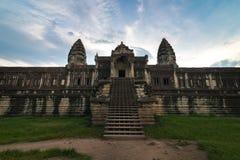 Innenansicht ein Angkor Wat in Siem Reap, Kambodscha lizenzfreies stockbild
