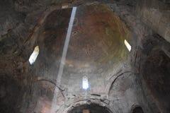 Innenansicht Jvari-Kloster, Mtskheta, Georgia Stockbild