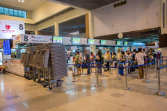 Innenansicht von Don Mueang International Airport Stockfotos