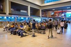 Innenansicht von Don Mueang International Airport Lizenzfreie Stockbilder