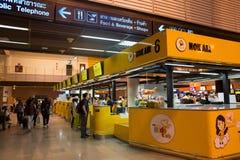 Innenansicht von Don Mueang International Airport Lizenzfreies Stockbild