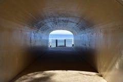 Innenansicht von Holland Tunnel Park lizenzfreies stockbild