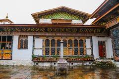 Innenansicht von Trongsa Dzong, einer des ältesten Dzongs in Bumthang, Bhutan Stockfoto