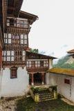 Innenansicht von Trongsa Dzong, einer des ältesten Dzongs in Bumthang, Bhutan, Asien Stockbilder