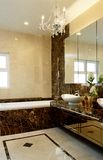 Innenarchitektur - Badezimmer stockfoto