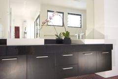 Innenarchitektur - Badezimmer lizenzfreie stockbilder