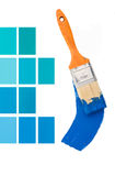 Innenarchitektur-Blau Lizenzfreies Stockbild
