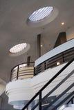 Innenarchitektur des Calgary-Kontrollturms Stockbilder