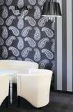 Innenarchitektur des modernen Wohnzimmers. Stockbild