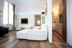 Innenarchitektur des Wohnzimmers Lizenzfreie Stockfotografie