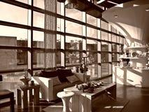 Innenarchitektur: Entspannung unter dem Tageslicht indoo Stockbilder