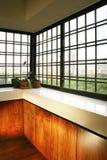 Innenarchitektur - Fenster stockfotografie