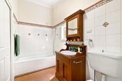 Innenarchitektur: Innenraum des Badezimmers Stockfoto