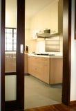 Innenarchitektur - Küche Lizenzfreie Stockbilder