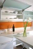 Innenarchitektur - Küche lizenzfreies stockbild