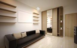 Innenarchitektur. Modernes Wohnzimmer Stockfotos