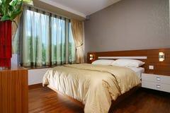 Innenarchitektur - Schlafzimmer lizenzfreie stockfotografie