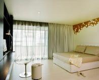 Innenarchitektur - Schlafzimmer lizenzfreie stockfotos
