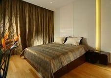 Innenarchitektur - Schlafzimmer stockfoto