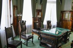 Innenbüro-Raum im Livadia-Palast, Krim Lizenzfreie Stockfotos