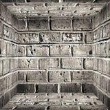 INNENBacksteinmauer Lizenzfreie Stockfotos