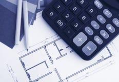 Innendekorationplan Lizenzfreies Stockfoto