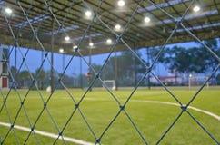 InnenFußballplatz Lizenzfreies Stockbild