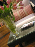 Innenfurnuture Vase lizenzfreie stockfotos