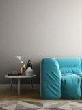 Innenillustration des Raumes 3D des modernen Designs Lizenzfreie Stockbilder
