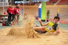 Innenleichtathletik 2015 Lizenzfreies Stockbild