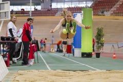Innenleichtathletik Wien 2015 Lizenzfreies Stockbild