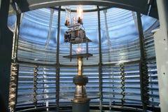 Innenleuchtturm-Laterne Stockfotos